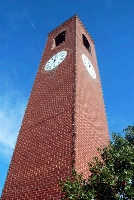 Spartanburg Town Clock image. Click for full size.