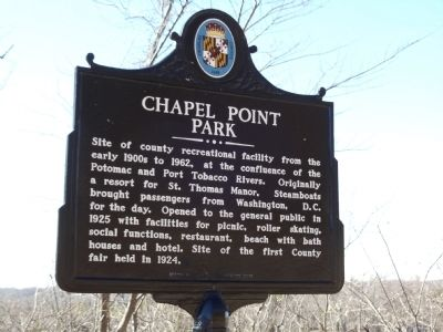 Chapel Point Park Marker image. Click for full size.