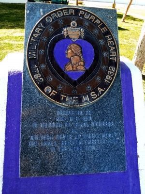 Military Order Purple Heart of the U.S.A. Marker image. Click for full size.
