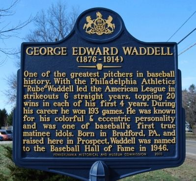 George Edward Waddell Marker image. Click for full size.