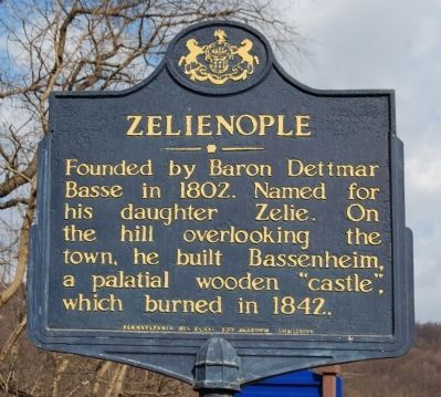 Zelienople Marker image. Click for full size.