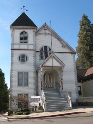Nevada City Methodist Church image. Click for full size.