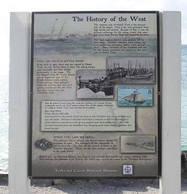 The History of the West Marker image. Click for full size.