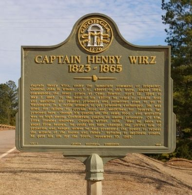 Captain Henry Wirz Marker image. Click for full size.