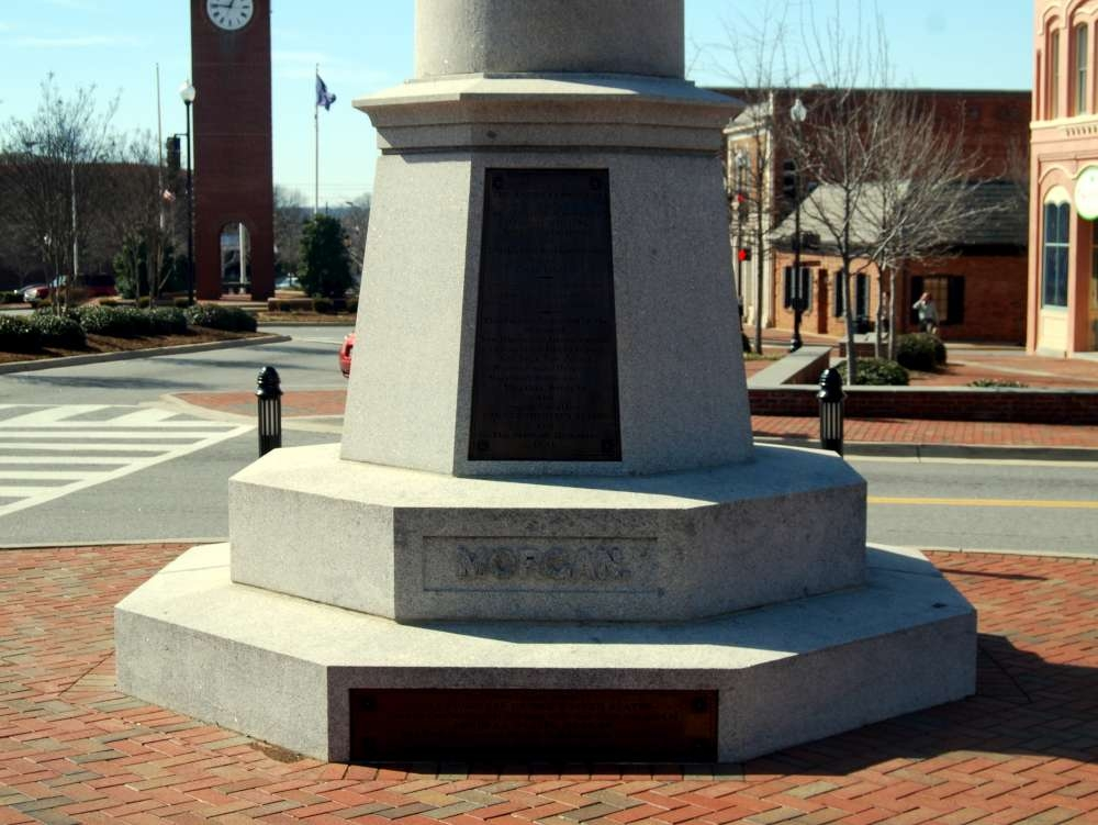 Daniel Morgan Monument -<br>Morgan Side