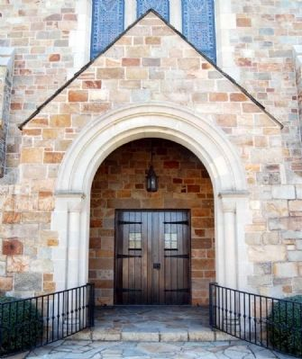 First Presbyterian Church of Spartanburg -<br>Main Entrance image. Click for full size.