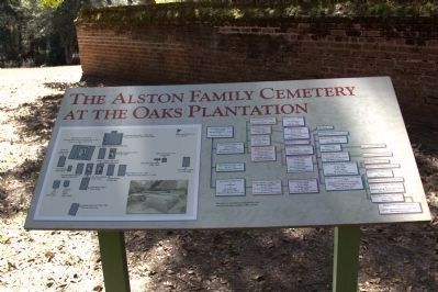 Alston Cemetery Grave Locations and Family Tree image. Click for full size.