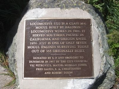 Locomotive 1727 Marker image. Click for full size.