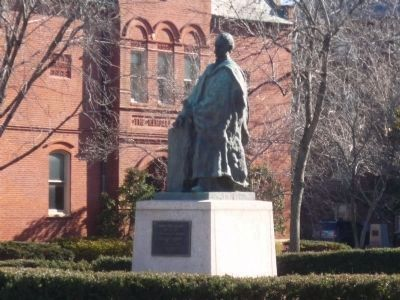 Edward Miner Gallaudet Memorial on Gallaudet Mall image. Click for full size.