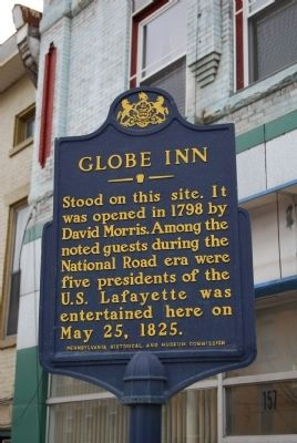 Globe Inn Marker image. Click for full size.