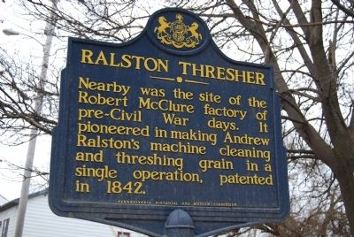 Ralston Thresher Marker image. Click for full size.