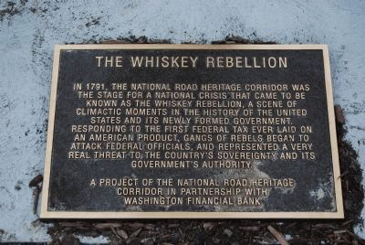 Whiskey Rebellion Marker image. Click for full size.