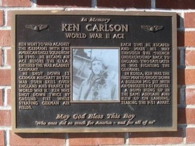 In Memory - Ken Carlson Marker image. Click for full size.