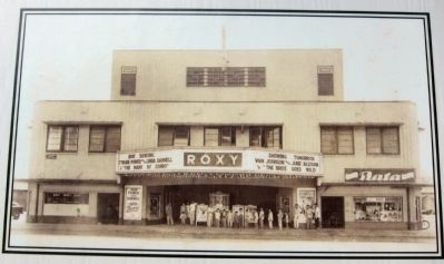 The Roxy Theater image. Click for full size.