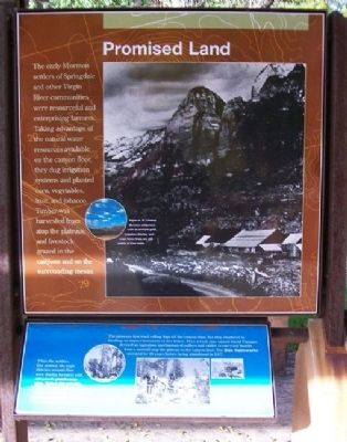 Promised Land Marker image. Click for full size.