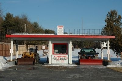 Malta Drive-In Gate image. Click for full size.