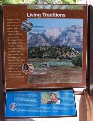 Living Traditions Marker image. Click for full size.