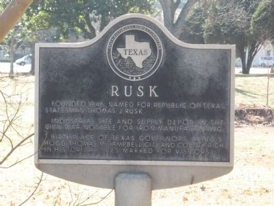 Rusk Marker image. Click for full size.