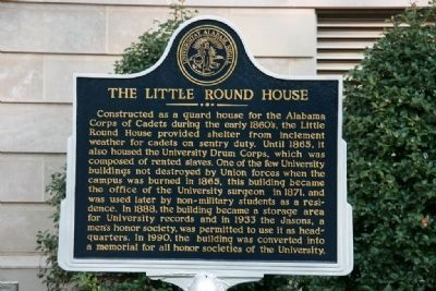 The Little Round House Marker image. Click for full size.