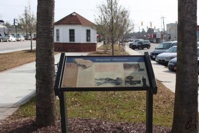 Wagener Museum Marker, see on Lee Street North along Old Ninety Six / Indian Trail (State Route 39) image. Click for full size.