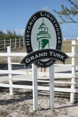Grand Turk Historic Lighthouse Marker image. Click for full size.