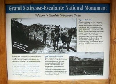 Glendale Orientation Center Marker image. Click for full size.