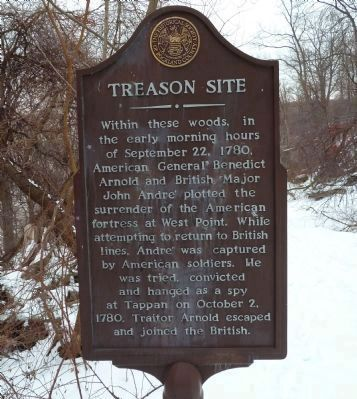 Treason Site Marker image. Click for full size.