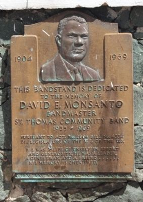 St. Thomas Community Bandmaster Marker image. Click for full size.