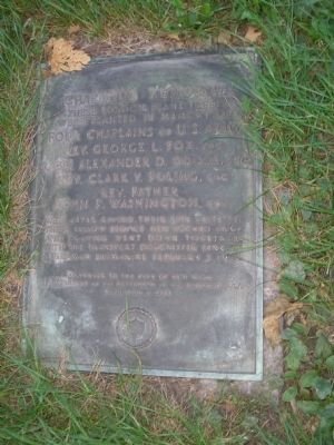 Chaplains Memorial Marker image. Click for full size.