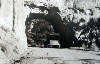 Photo on Red Canyon Tunnels Marker image. Click for full size.