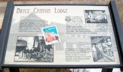 Bryce Canyon Lodge Marker image. Click for full size.