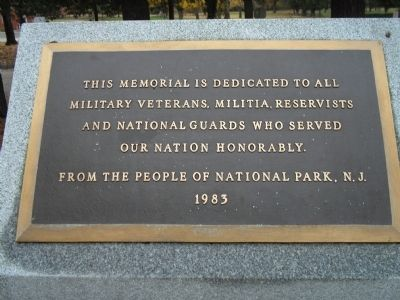 National Park Armed Service Monument Marker image. Click for full size.