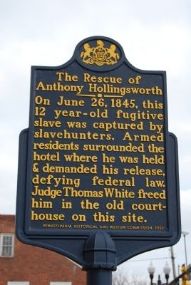 The Rescue of Anthony Hollingsworth Marker image. Click for full size.