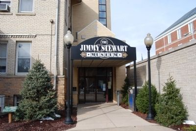 The Jimmy Stewart Museum Entrance image. Click for full size.