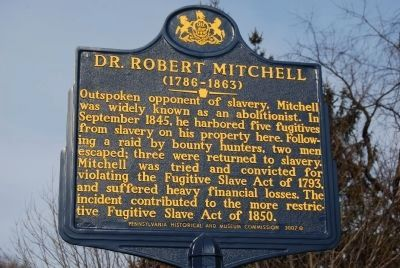 Dr. Robert Mitchell Marker image. Click for full size.