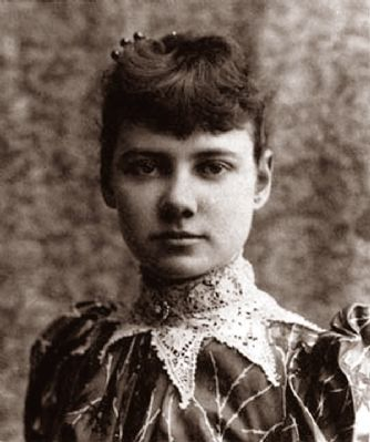 Nellie Bly image. Click for full size.