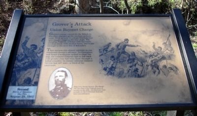 Grover's Attack ▪ Union Bayonet Charge Marker image. Click for full size.