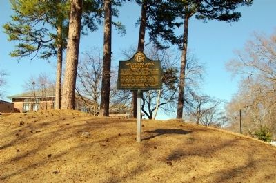 Site of Sam Jones' Tabernacle Marker image. Click for full size.