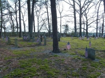 Wide view of the burial ground. image. Click for full size.