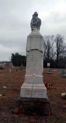 Rev. John Gill Landrum<br>Monument - South Inscription image. Click for full size.
