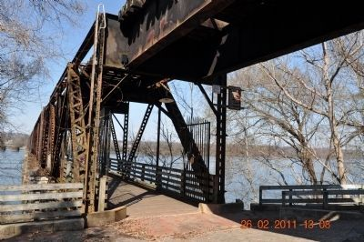 Old Railroad Bridge Lower Deck image. Click for full size.