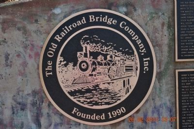 Old Railroad Bridge Company Inc. Founded 1990 image. Click for full size.