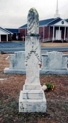 John Belton O&#39;Neall Landrum<br>Monument - West Inscription image. Click for full size.