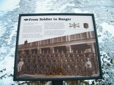 From Soldier to Ranger Marker image. Click for full size.