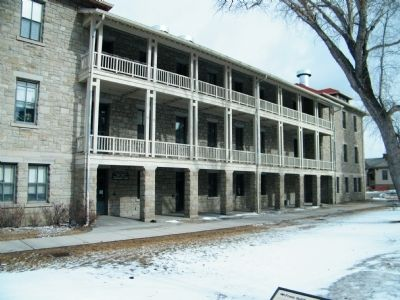 Enlisted Men's Barracks image. Click for full size.