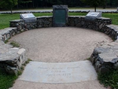 Paul Revere Capture Site image. Click for full size.