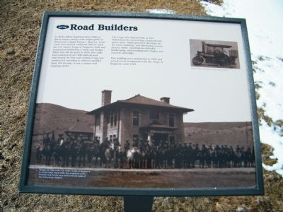 Road Builders Marker image. Click for full size.