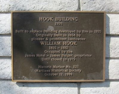 Hook Building Marker image. Click for full size.