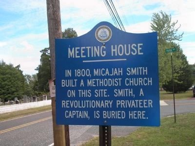 Meeting House Marker image. Click for full size.