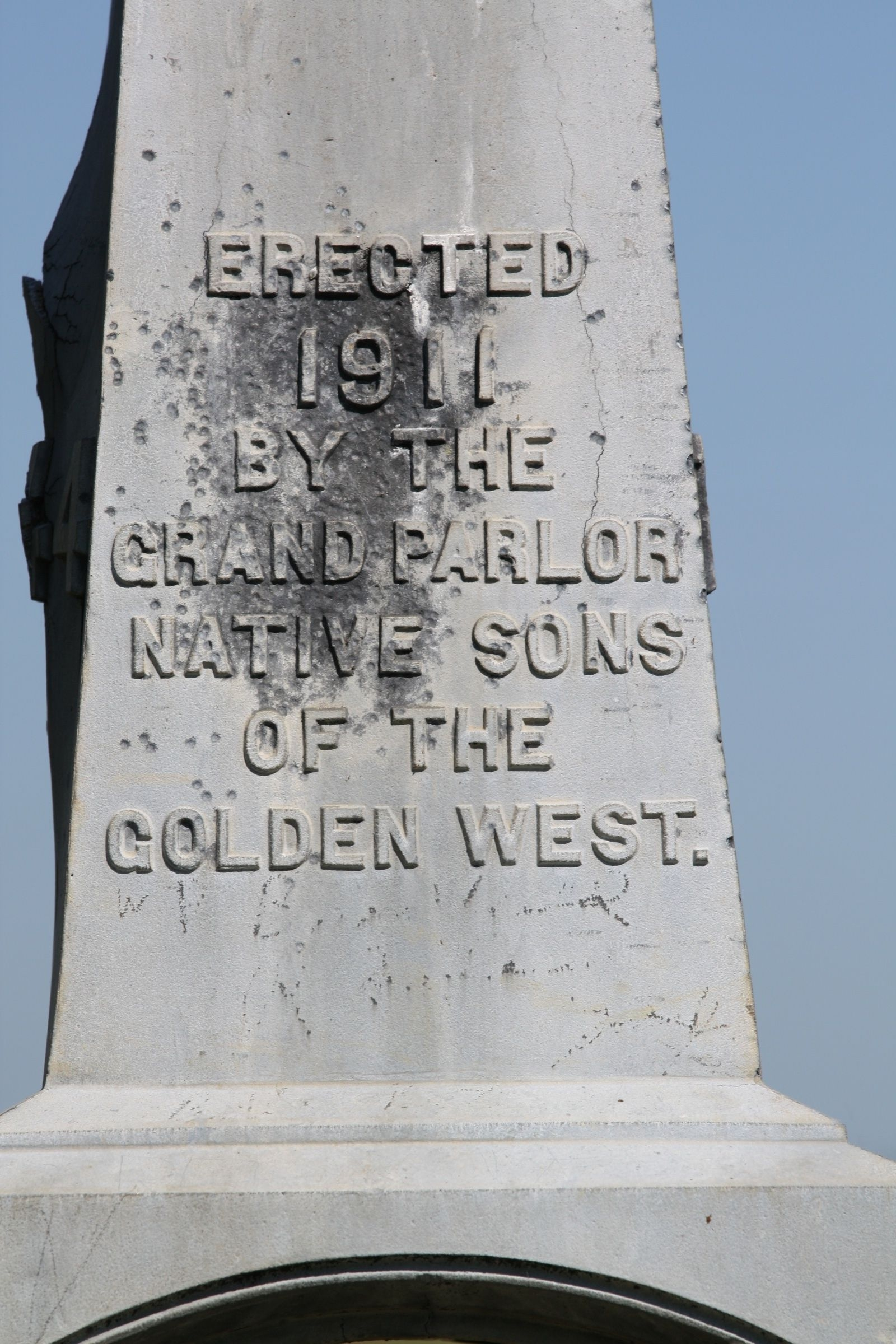 Camp Far West Cemetery Monument